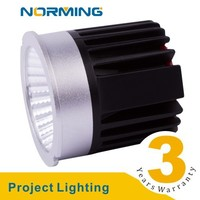 3000K LED Light Fixture Recessed No Flicker 50mm