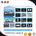 New arrival Wholesale price hot selling chrome kits full set accessories for toyota hiace