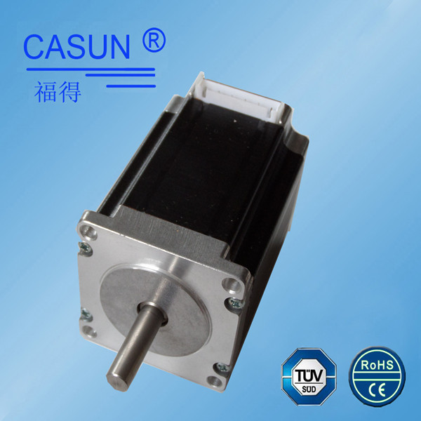 Hot sale!Made in China stepper nema23 low cost stepper motor 1.8 degree, smooth running for cnc machine ,engraving machine