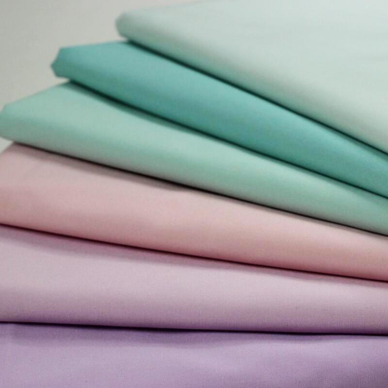 solid color T/C 65/35 medical uniform fabric for hospital woman scrub suit