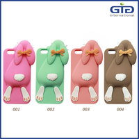 [GGIT] High Quality Cute Bunny Lying Rabbit 3D Silicon Soft Mobile Phone Accessories Case for iPhone 6/6S