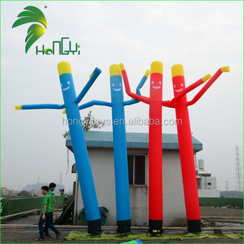 Flexible Air Tube Inflatabme Man, Outdoor Mini Inflatable Air Tube Man for Promotion