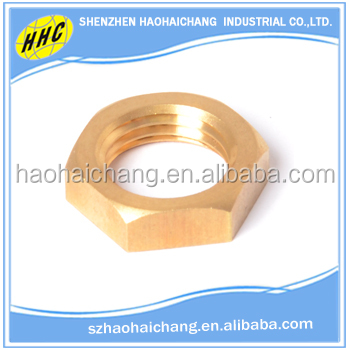 China factory OEM nonstandard metal hexagon lock cylindrical interthreaded hollow bolt and nuts