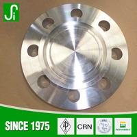 2016 advanced machines metal forged Ansi stainless steel 304 blind flange 304 casting flange