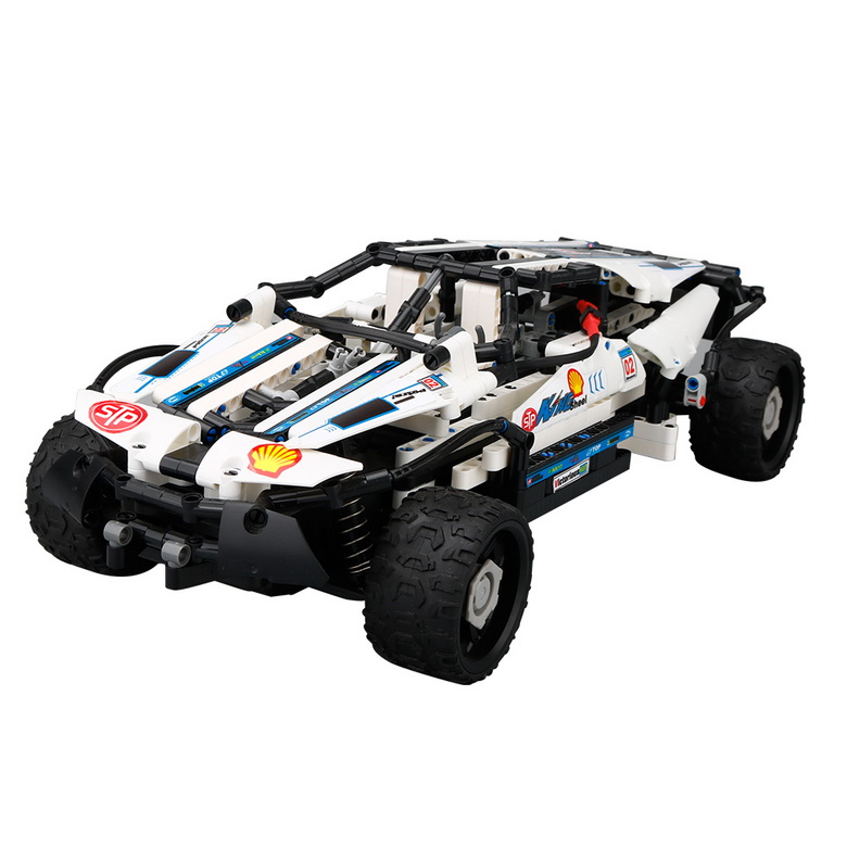 RC Cars Model engine SDL 2017A-9 commander DIY stick building block remote control car plug-in puzzle kids electric car suv