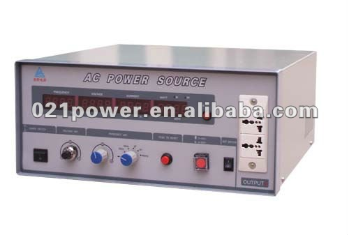 variable frequency power sources / single phase to three phase