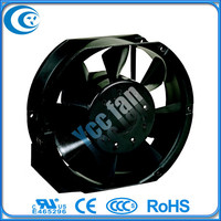 Seven blades 172x150 x51mm 1751 17251 110v 220v 380v Air cooling fan ac with Rohs CE UL