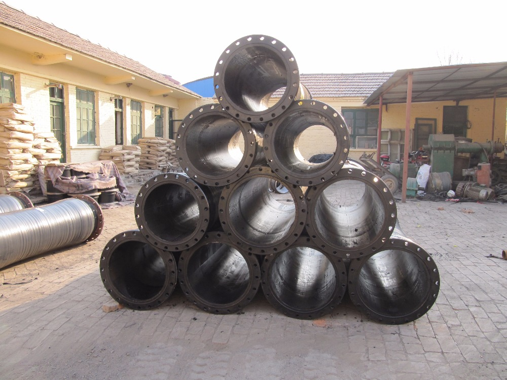 YD Flange Joint Rubber Mud Suction Hose/Dredging Rubber