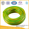 low voltage one core conductor pvc wire / electric power cable