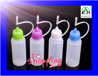 HOT sale needle tips BPA free FDA food safe 5ml/10ml/15ml/20ml/30ml50ml/100ml PE E Liquid bottle essential oil bottle