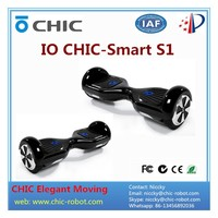 Self balancing lithium battery electric scooter for handicap