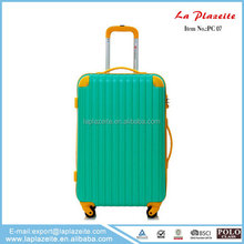 Bright color travel luggage, decent travel luggage on promotion