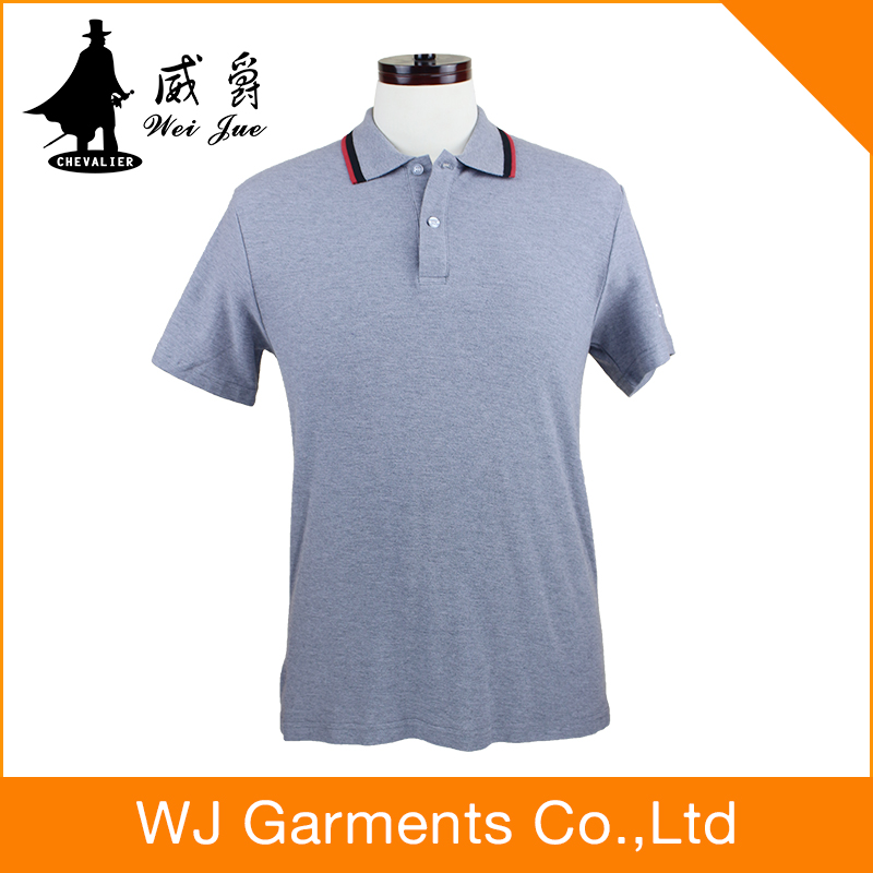 2017 new design Mens Polo Size Contrast Work Golf Shirt men's brand name polo t shirts