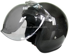 open face helmet/ carbon fiber helmet with bubble visor motorcycle helmet Hot selling type in America & Euro