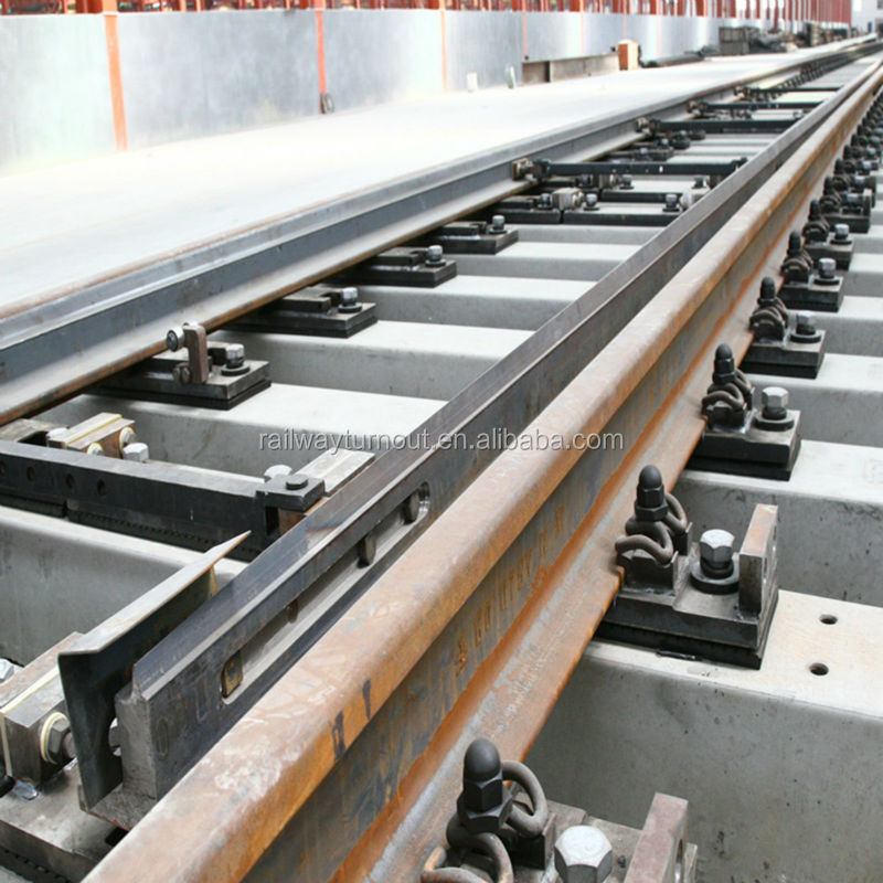 for high speed railway Good quality construction from factory with CE Rail turnout