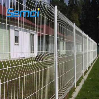 3d fence panel, Curved fence panels, triangle bending fence