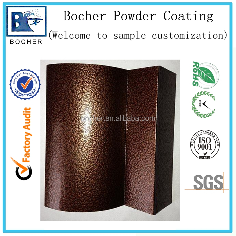 Manufacturer thermosetting powder coating of texture finish