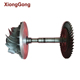 Marine Turbocharger titanium billet turbo compressor wheel for diesel engine parts