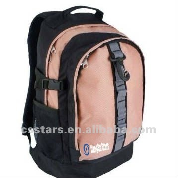 Pink outdoor sports biking&hiking backpack,Polyester