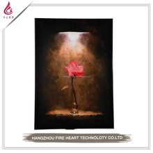 High quality rose flower oil painting