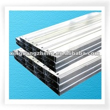 Metal roof purlin Z steel beam Z section steel for prefabricated warehouse /steel building/poutry shed /garage