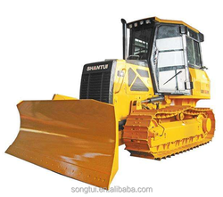 earth moving machinery full hydraulic 80hp 8T small dozer SD08 for sale