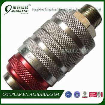 Hot Promotional European Universal Safety Air Hydraulic Quick Coupler
