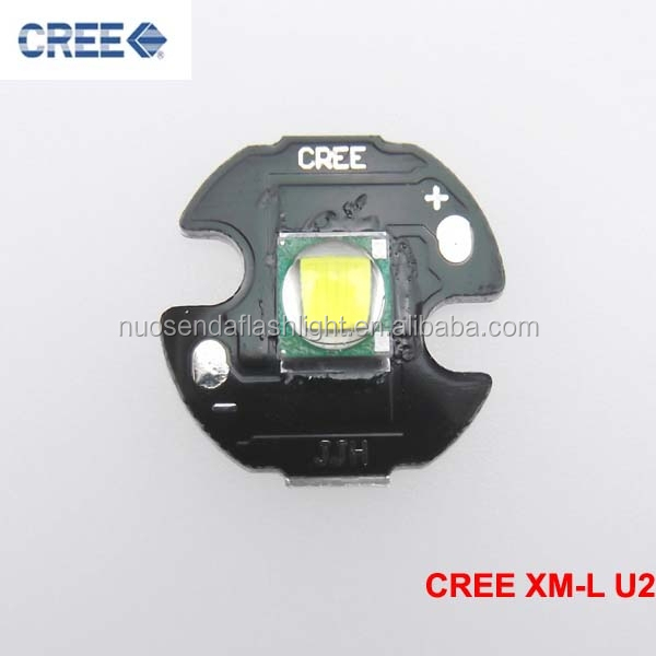 1xCREE XML <strong>U2</strong> Cool White LED Emitter with 16mm Aluminum Heating Star