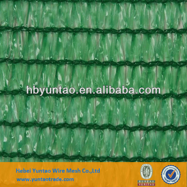 High quality HDPE with eyelet agricultural use greenhouse sun shade net