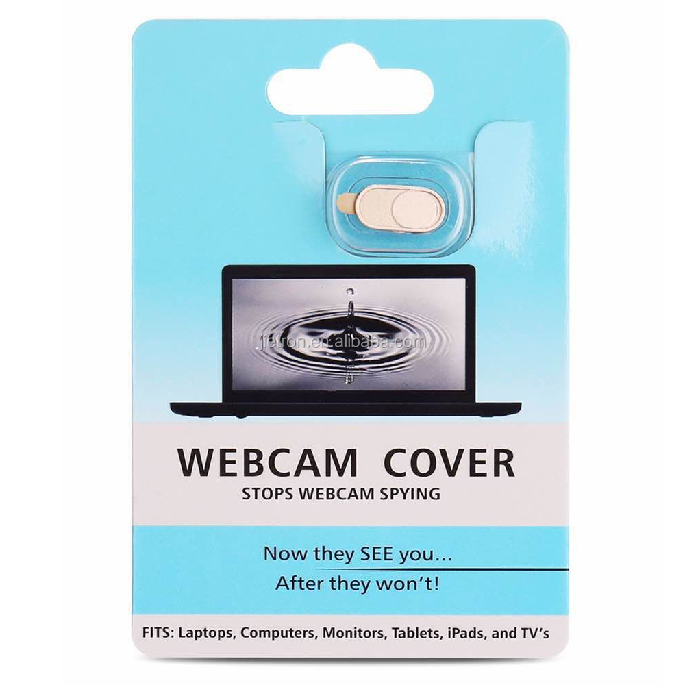 Webcam Cover for iPhone Android Smartphones-Gold color /2-pack, with blister card packing