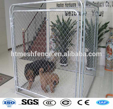Easily assembled hot-dipped galvanized chain link dog kennels, cages, houses at factory price