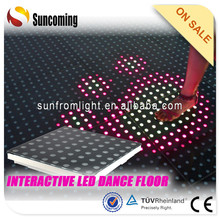 Professional used led dance floor for sale car show