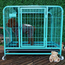 Chain Link metal iron heated puppy dog crate dog kennel singapore sale