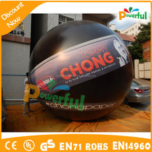 event floating LED inflatable advertising balloon for sale