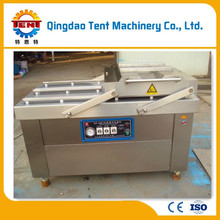 double chamber vacuum packing machine with famous brand parts