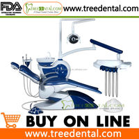 TR-S101 FDA & CE approved Mermaid Design Dental Chair Unit for lady, with high quality Imported spare parts ritter dental chair