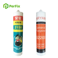 Neutral Silicone Fireproof Sealant Specialized for Mirror