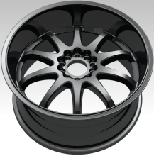 Size 18*8.0 Car Auto Rim Aluminum Alloy Wheel