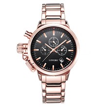 LongBo wrist watches for men and women,Watch companies looking for distributors, stainless steel back quartz watches