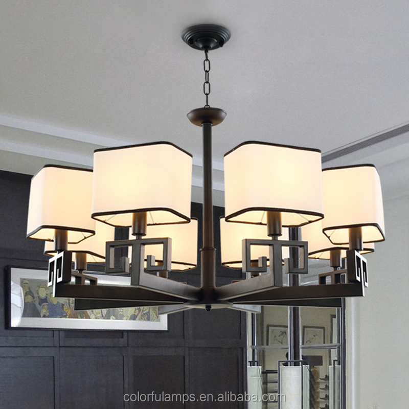 New American Style Antique Baking Finish Chandelier & Pendant Lights , Factory Price Directly .For Home / Hotel Project .G1003-8