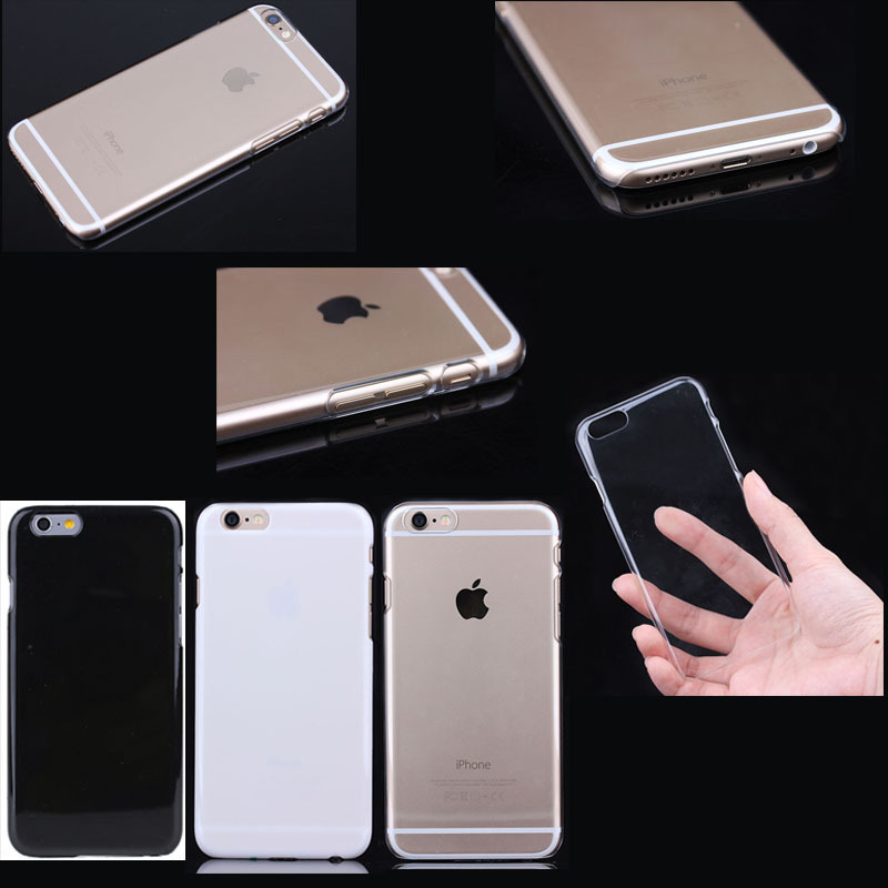 Crystal Hard PC case for iphone 6 plus