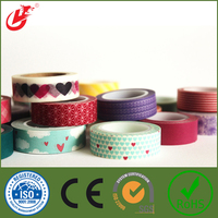 High quality colorful Decorative tape chalkboard paper tape water proof customized