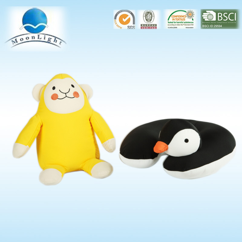 Selling well Microbeads baby animal pillow made in China
