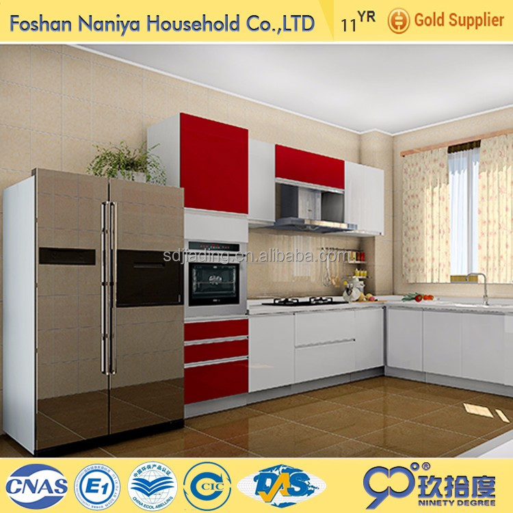high gloss acrylic modern white laminate kitchen cabinet kitchen design kitchen furniture cocina