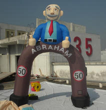 High quality and professional Inflatable abraham and sarah holland cartoon balloon Inflatable Arch H3023