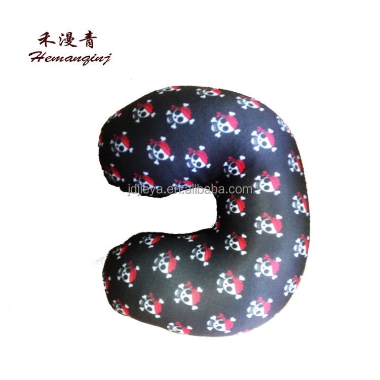 animal tube shaped pillows, pillow with ear hole pillow, u-shape offic...