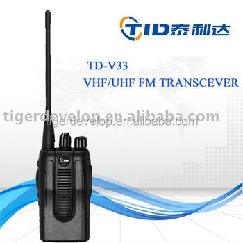 TD-V33 Professional 5W wireless 2 way intercom system
