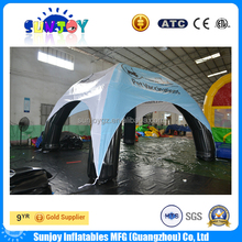 Hot selling strong entertainment outdoor inflatable camping tent cheap advertising igloo tent price for sale