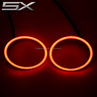Furious 7 rgb color halo rings led angel eyes 40mm~200mm available angel eye light