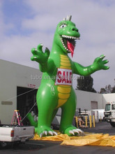 Cheap advertising cartoon dinosaur, giant inflatable dinosaur for promotion